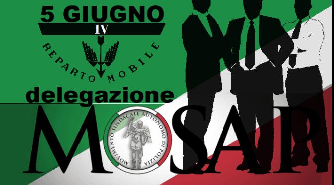 MOSAP NAPOLI: incontro con il Dirigente del IV Reparto Mobile di Napoli
