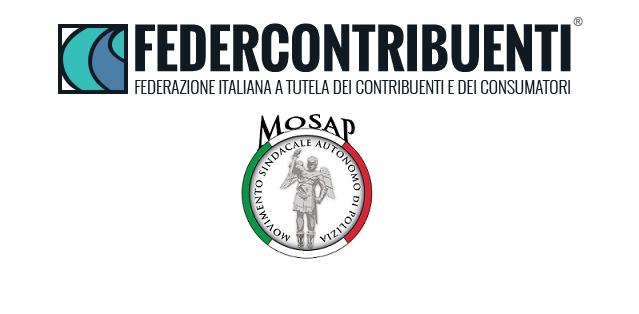 MOSAP NAZIONALE:  stipulata convenzione con  Federcontribuenti