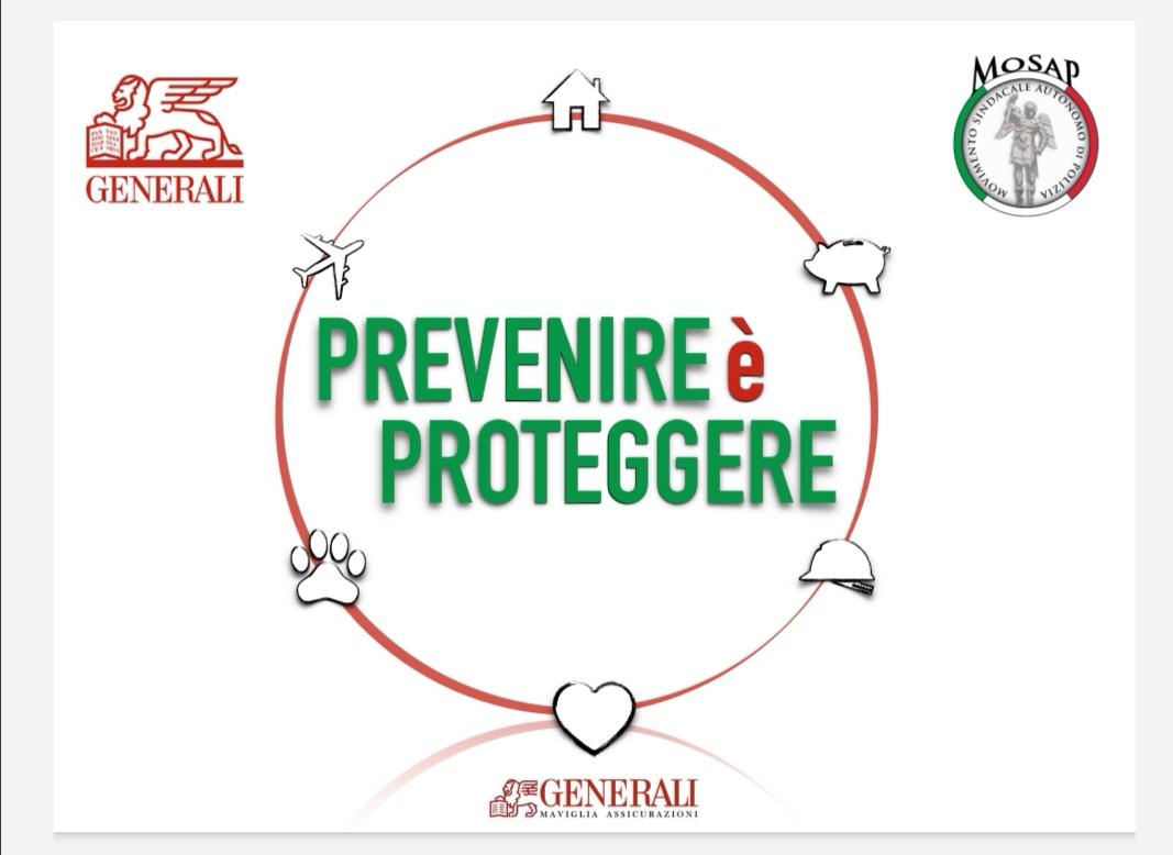 MOSAP NAZIONALE: convenzione con la compagnia assicurativa GENERALI