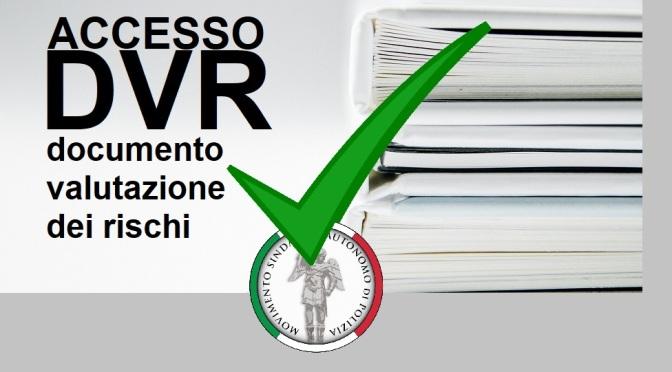 MOSAP NAPOLI: IV REPARTO MOBILE, ACCOLTA L'ISTANZA DI ACCESSO AL DVR – RISCHIO BIOLOGICO COVID 19